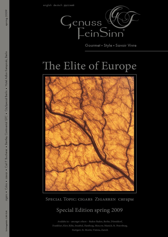 Gf The Elite Of Europe Edition 2009 By Gf Luxury Issuu