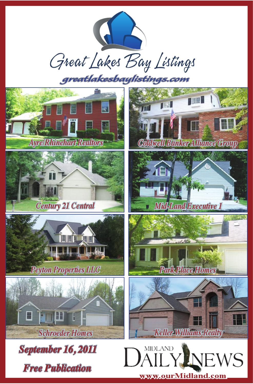 Great Lakes Bay Listings Real Estate Magazine 916 By Midland Daily