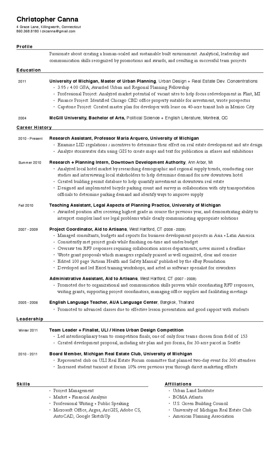 chris canna resume by christopher canna