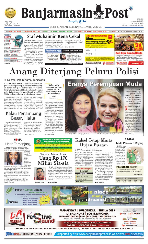 Banjarmasin Post Edisi Sabtu 17 September 2011 By Perdana Axis Acak Revanyu Issuu