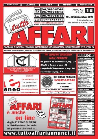 giornale 16-30 settembre 2011 by tutto affari - issuu 60a7d88548c
