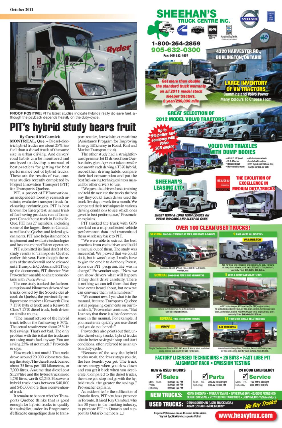 Truck News October 2011 By Annex Business Media Issuu
