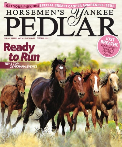 Horsemens Yankee Pedlar October 2011 By Equine Journal Issuu