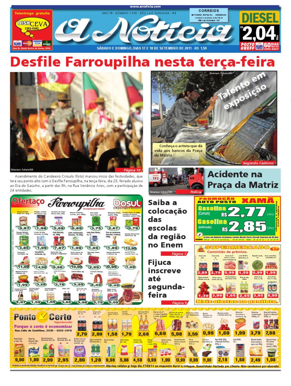 c9f1ce5e9c Edição dos dias 17 e 18 de setembro de 2011 by Jornal A Notícia - issuu