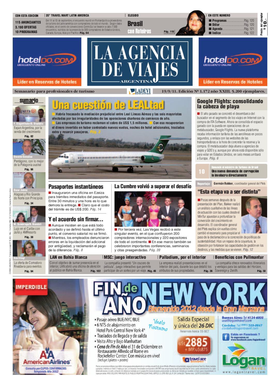 La Agencia de Viajes Argentina Nº 1.172 by Ladevi Media   Solutions - issuu 2bc1d3cff7904
