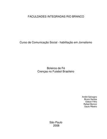 Boleiros de Fé by André Salvagno - issuu 82c229d6b5af7