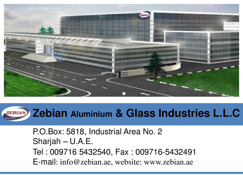Zebian Aluminium Presentation by Cyberads Webfirm - issuu