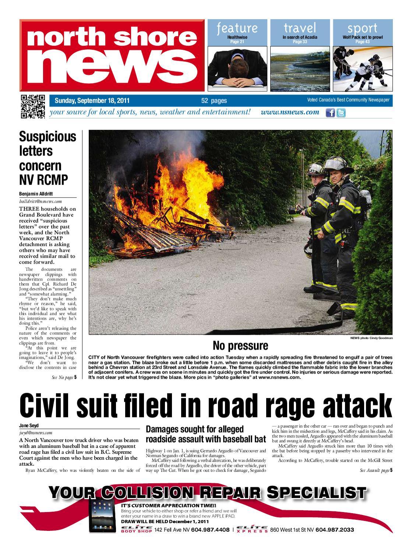 North Shore News September 18 2011 By Glacier Digital Issuu