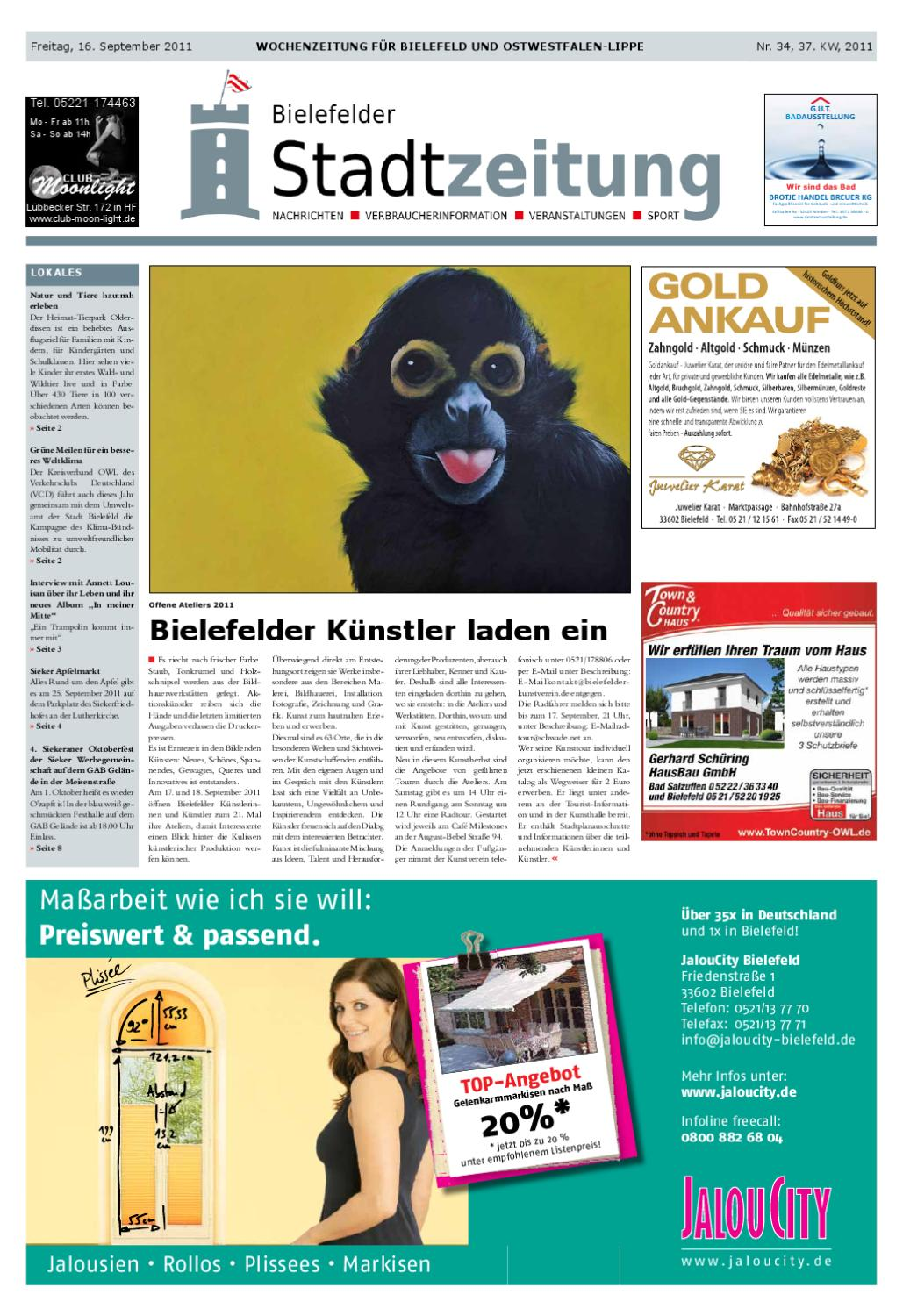 34 bielefelder stadtzeitung by jess man issuu. Black Bedroom Furniture Sets. Home Design Ideas
