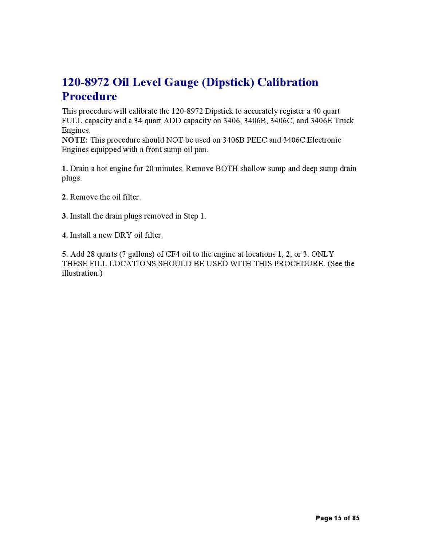 CAT 3406E PEEC Manual