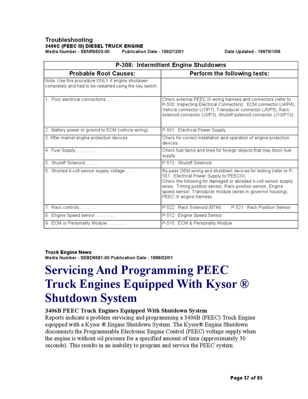 CAT 3406E PEEC Manual by Ariel Sanchez - issuu