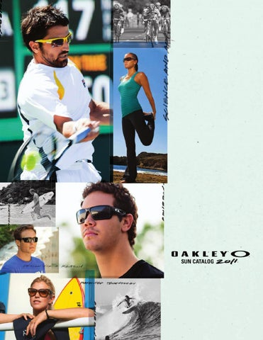 ff54365835 Oakley Catalog Winter 2010 - 2011 presented by Oakstore.de by 4ego ...