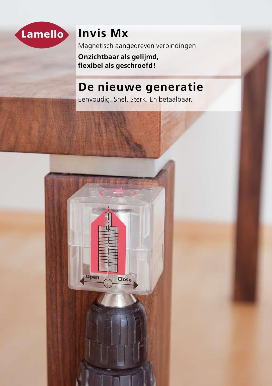 Invis Mx De Nieuwe Generatie Nl By Lamello Belgium Nv
