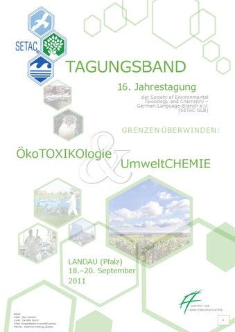 Tagungsband SETAC GLB Jahreskonferenz 2011 by F. M. - issuu