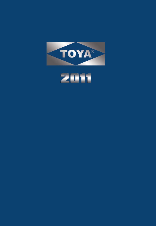 TOYA CATÁLOGO GENERAL 2011 by PIOTR GIEC - issuu