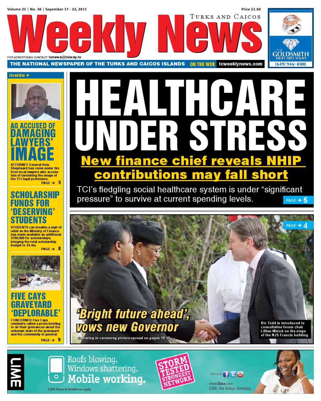 Turks & Caicos Weekly News by TC Weekly News - issuu