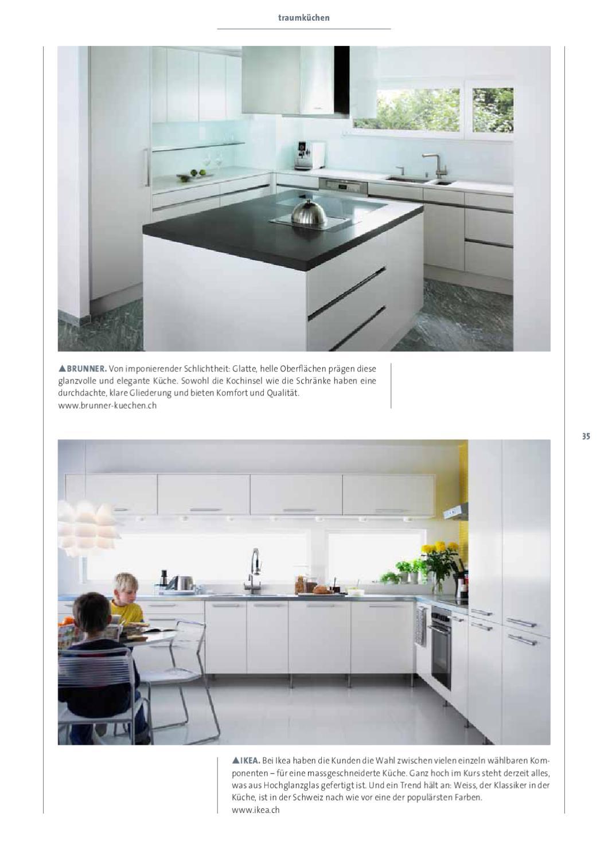 Ausgezeichnet Küche Farbschemata Mit Hellen Holzschränke Fotos ...