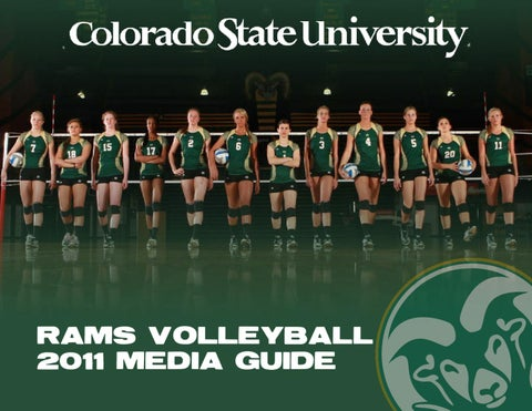 reputable site 2ddc4 60850 2011 CSU volleyball media guide by Colorado State University ...