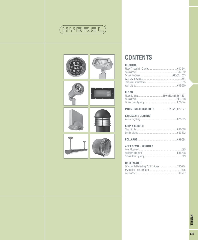 Hydrel Lighting Catalog By Alcon Issuu