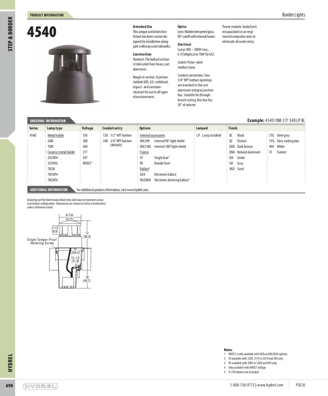hydrel lighting catalog by alcon lighting