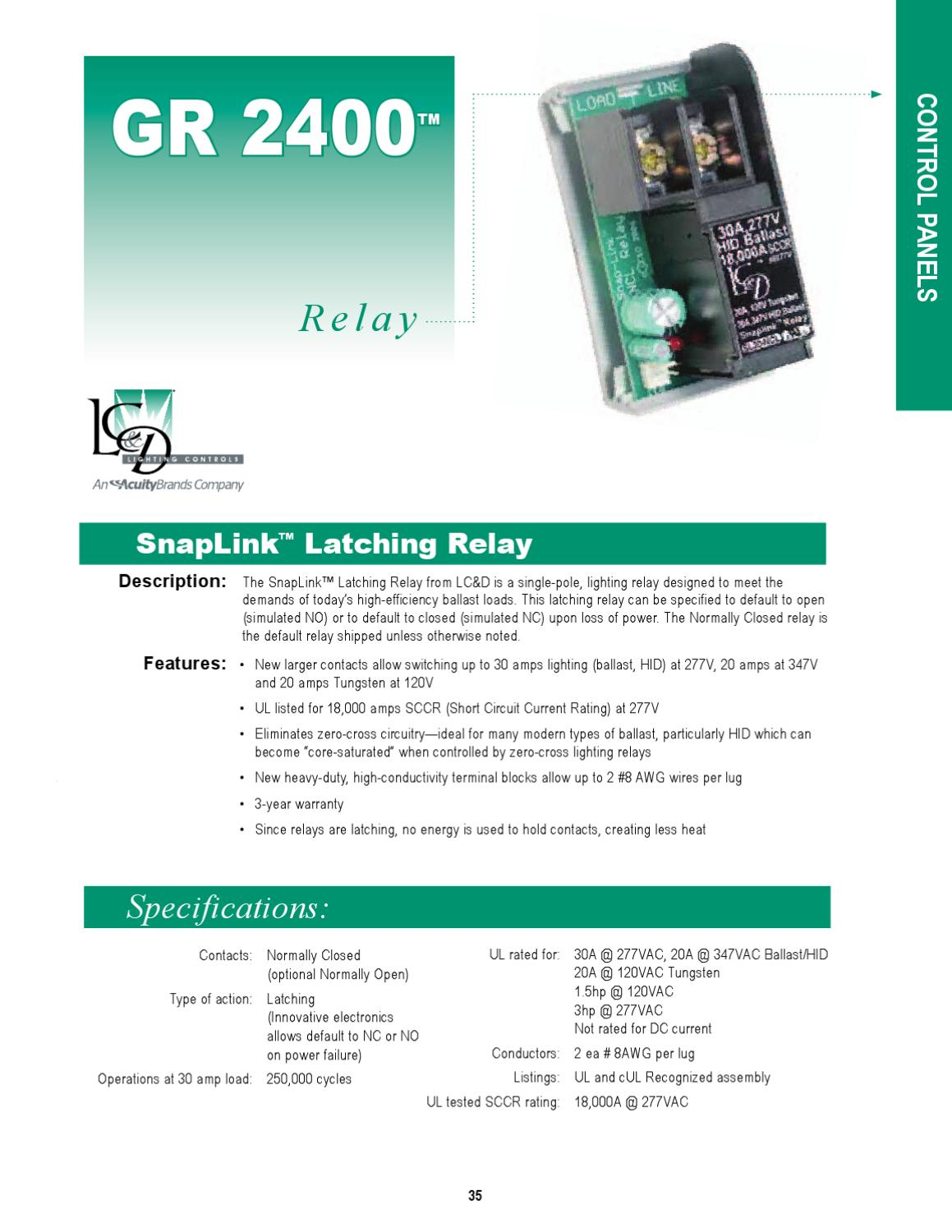Lighting Controls Design Catalog By Alcon Issuu No And Nc Contacts Of Relay