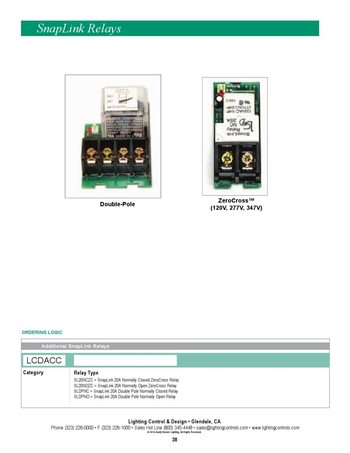 Lighting Controls Design Catalog By Alcon Issuu Relay Normally Open Vs Closed