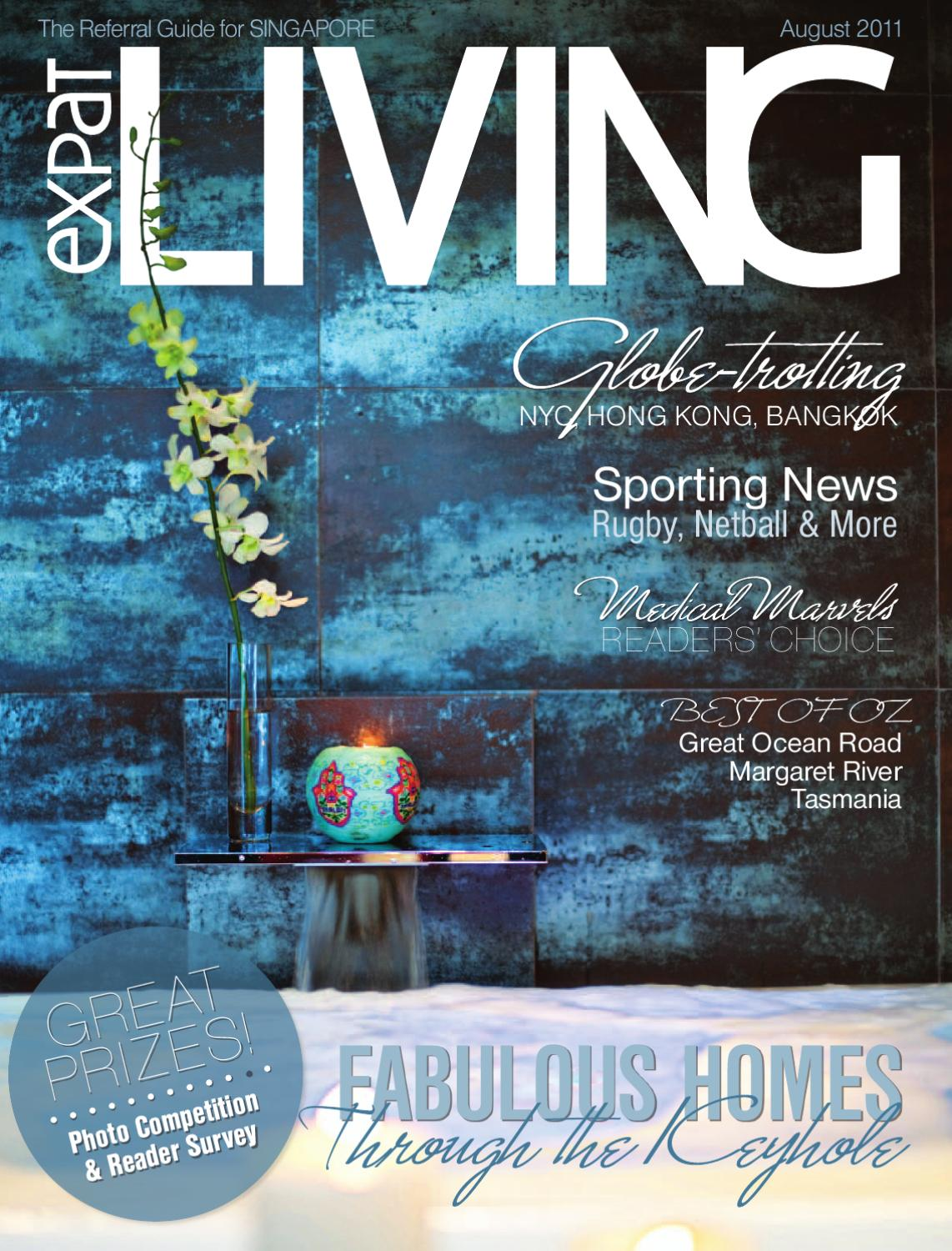 Expat Living Singapore August 2011 - Issue 109 by Expat Living ...