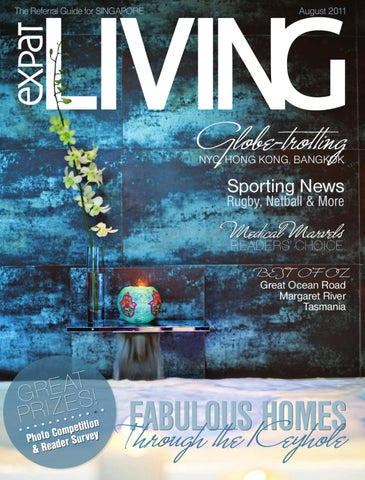 b23f52ae37 Expat Living Singapore August 2011 - Issue 109 by Expat Living ...