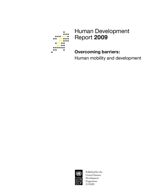 Avis Sur Le Site Home24 human development report 2009: 'overcoming barriers: human