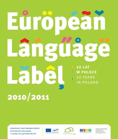 European Language Label 10 Lat W Polsce By Fundacja Rozwoju Systemu