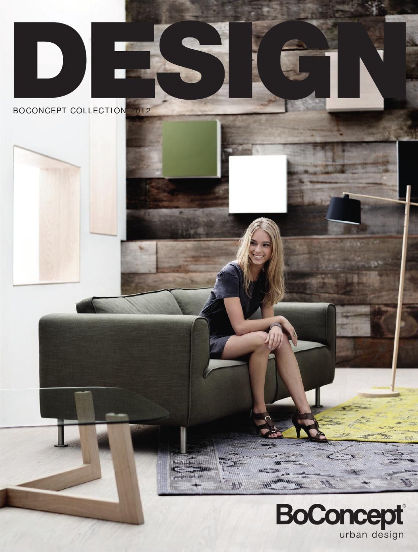 Boconcept catalogue 2012 urban danish design since 1952 for Urban danish design