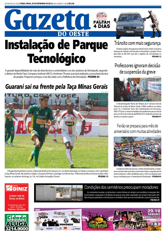 Gazeta do Oestes by Dacio Fernandes - issuu 788c2bbc6e