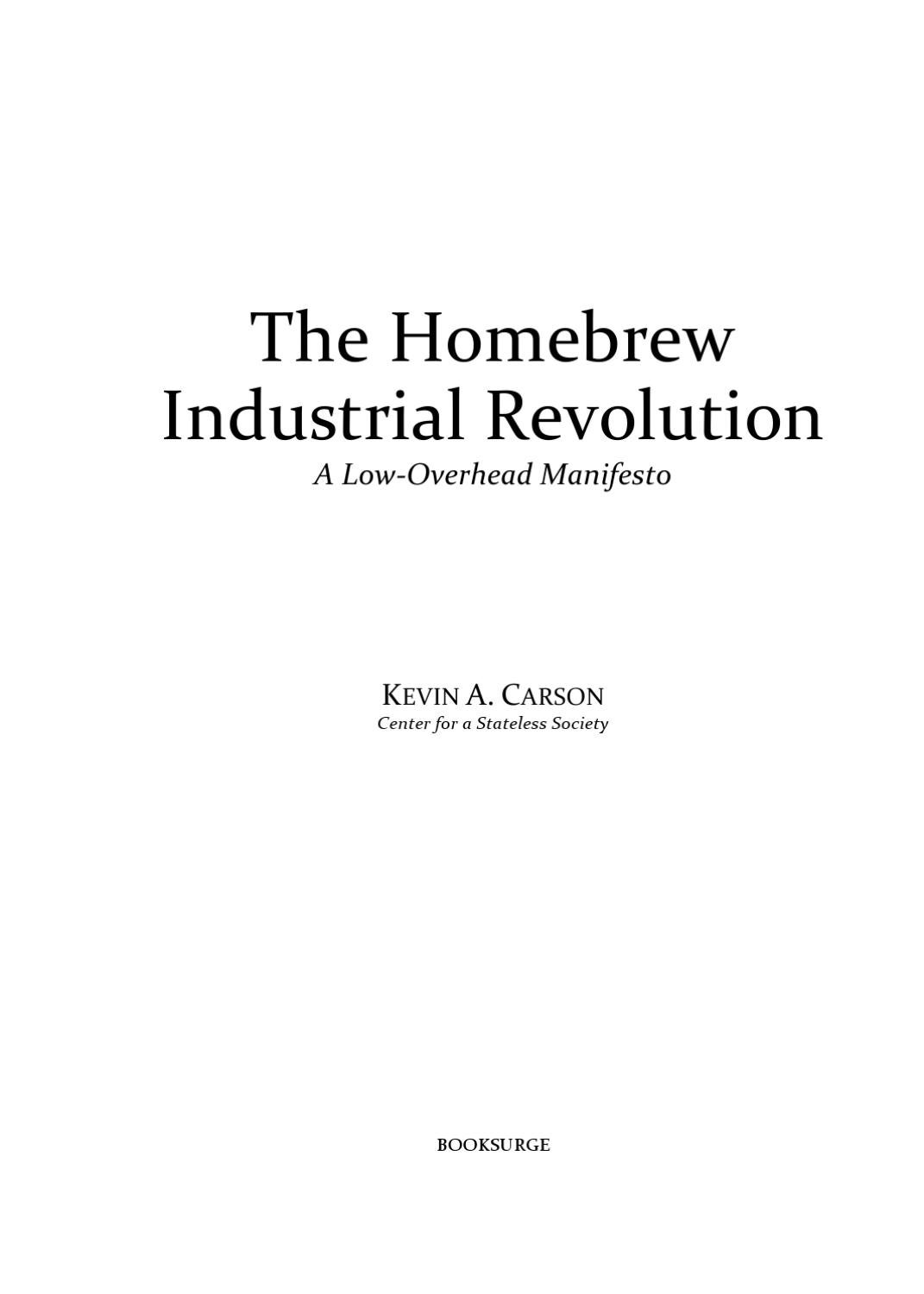Scr Circuit Design Http Homemadecircuitsandschematicsblogspotcom The Homebrew Industrial Revolution A Low Overhead Manifesto By Giorgio Bertini Issuu