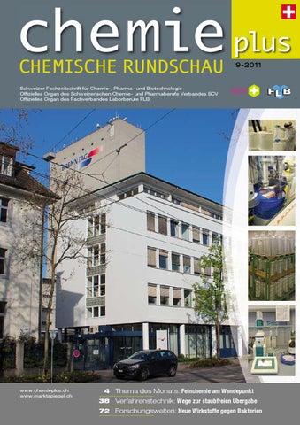Chemieplus 2011/09 By AZ Fachverlage AG   Issuu