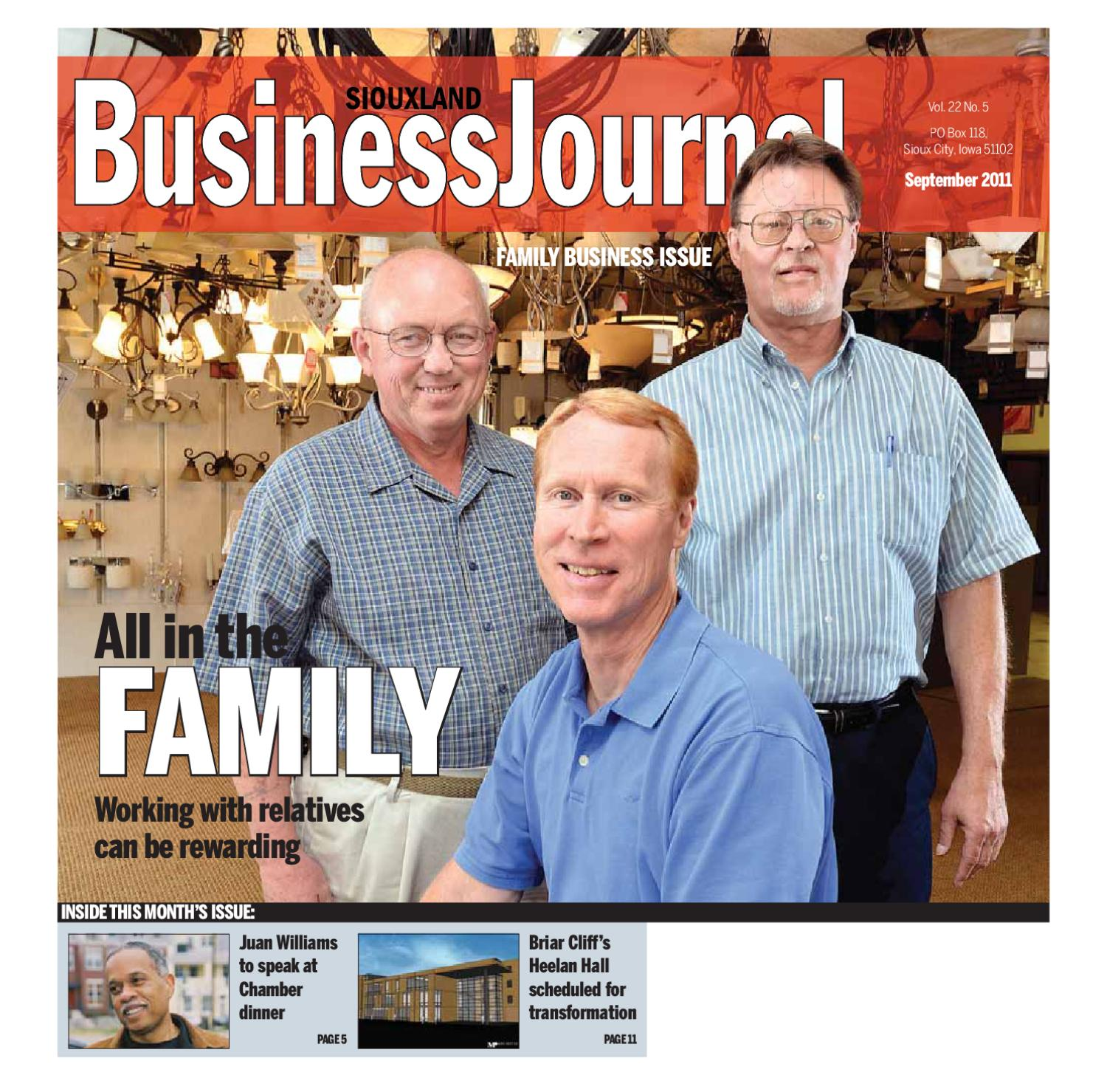 siouxland business journal september 2011 by sioux city journal