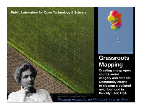 2011 Grassroots Mapping Gowanus Canal Balloon and Kite Aerials PDF