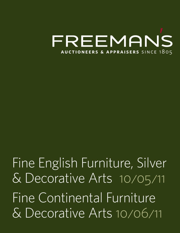 Fine English Continental Furniture Decorative Arts By Freemans Wooden Clock Bamboo 1293 Red Lightblue Lightgreen Light Issuu
