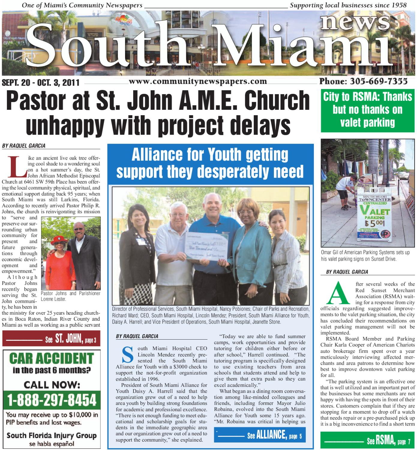 South Miami News 9 20 2011 by Community Newspapers - issuu