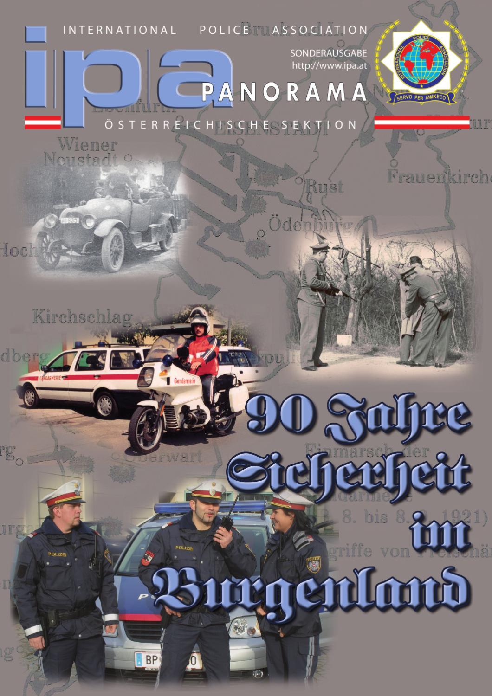 90 Jahre Sicherheit im Burgenland by IPA Austrian Section - issuu