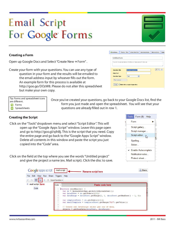 Extending Google Sheets