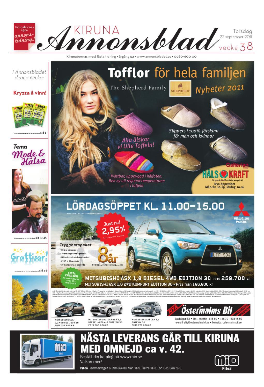 premium selection 3f907 e7c5b Kiruna Annonsblad 2011 v.38 by Svenska Civildatalogerna AB - issuu