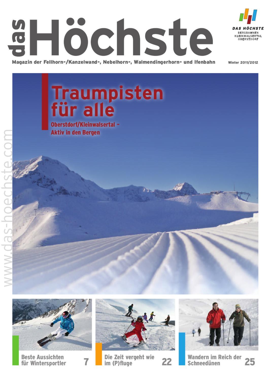 Fellhornbahn GmbH 20112012 by Winter HÖCHSTE DAS Magazin 0wkOP8nX