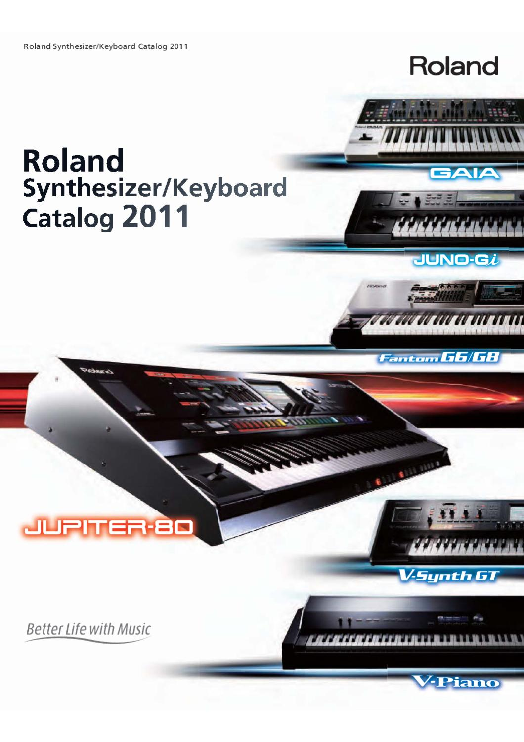 Synthesizer Keyboard Catalog 2011 By Nikola Grdanjski Issuu This Is The Wiring Schematic For Roland Ev5 Expression Footpedal