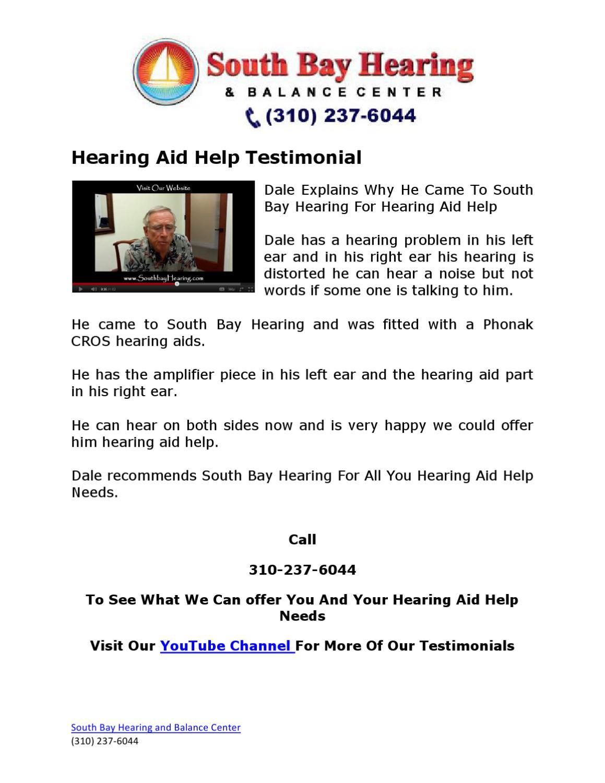 Hearing Aid Help Testimonial by Sunni McBride - issuu