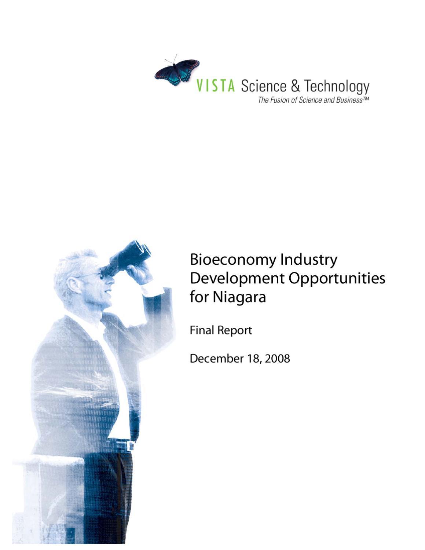 Bioeconomy Industry Development Opportunities by Niagara Economic ...