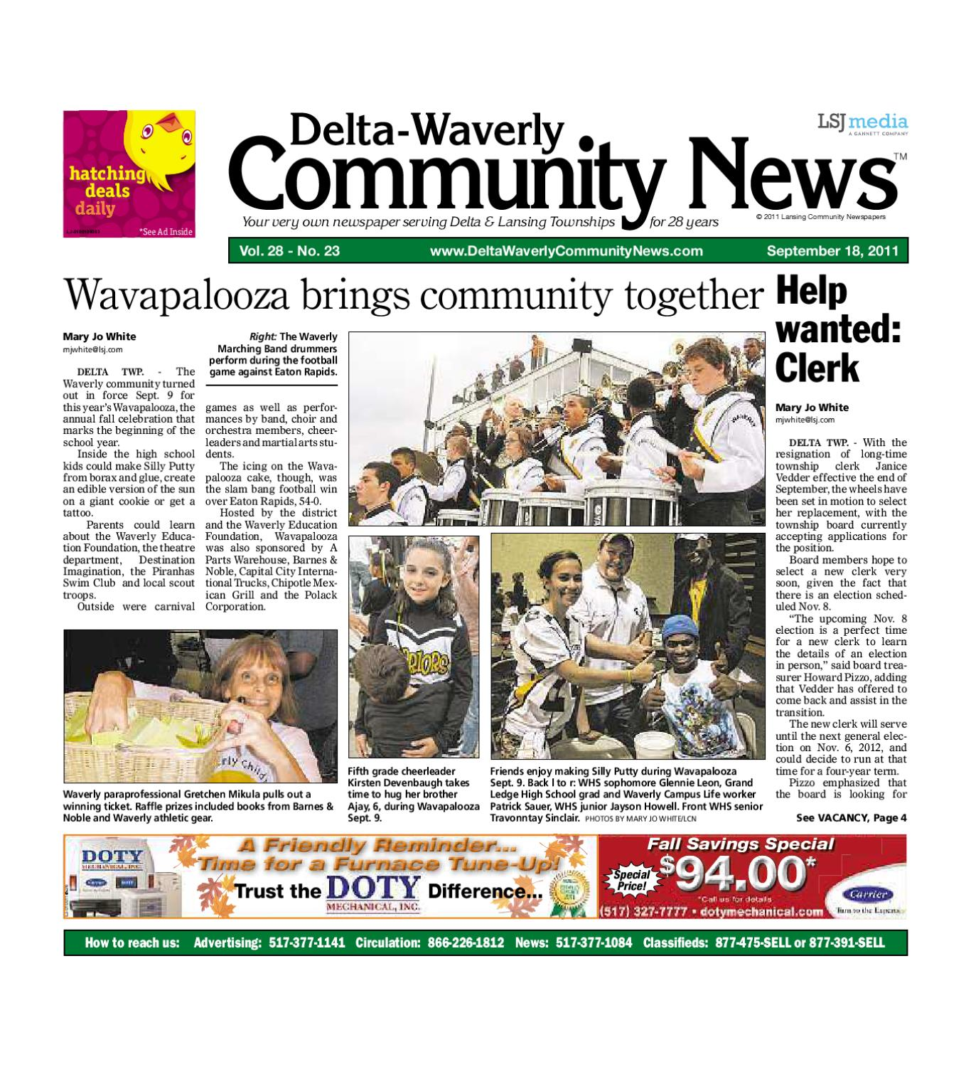 /dwcn_09_18_11 by Lansing State Journal - Issuu
