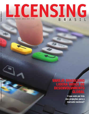 Revista Licensing Brasil  26 by EP Grupo – Agência de Conteúdo - issuu bb3cde01761