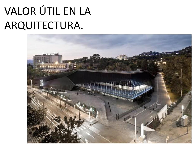 Lo util en la arquitectura by jos juan gerardo morales for En que consiste la arquitectura