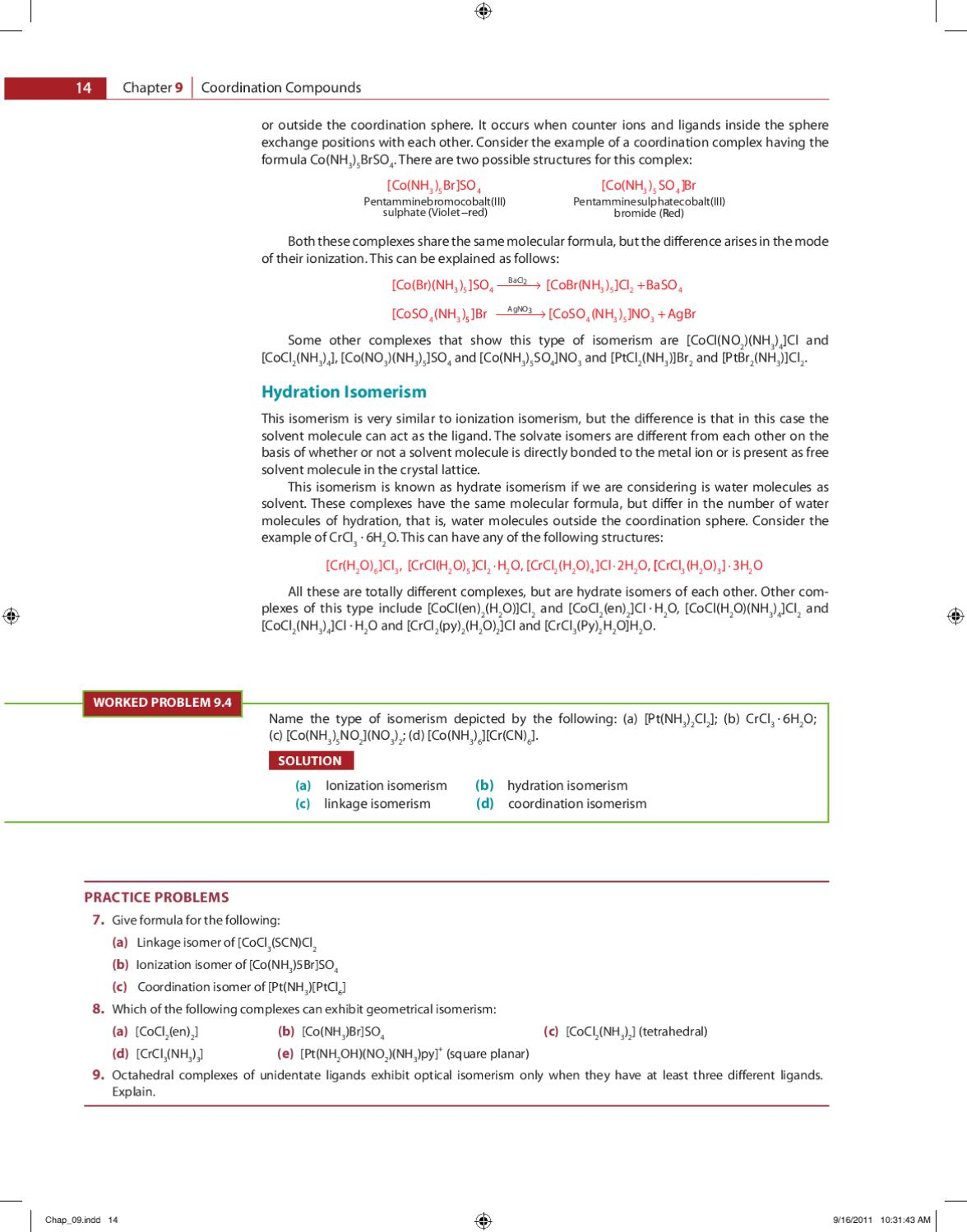 Ch-9 Chemistry by pragya joshi - issuu