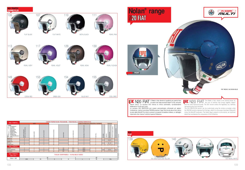 Catalogo Nolan 2012 by Moto Vogue - issuu 523474ccde405